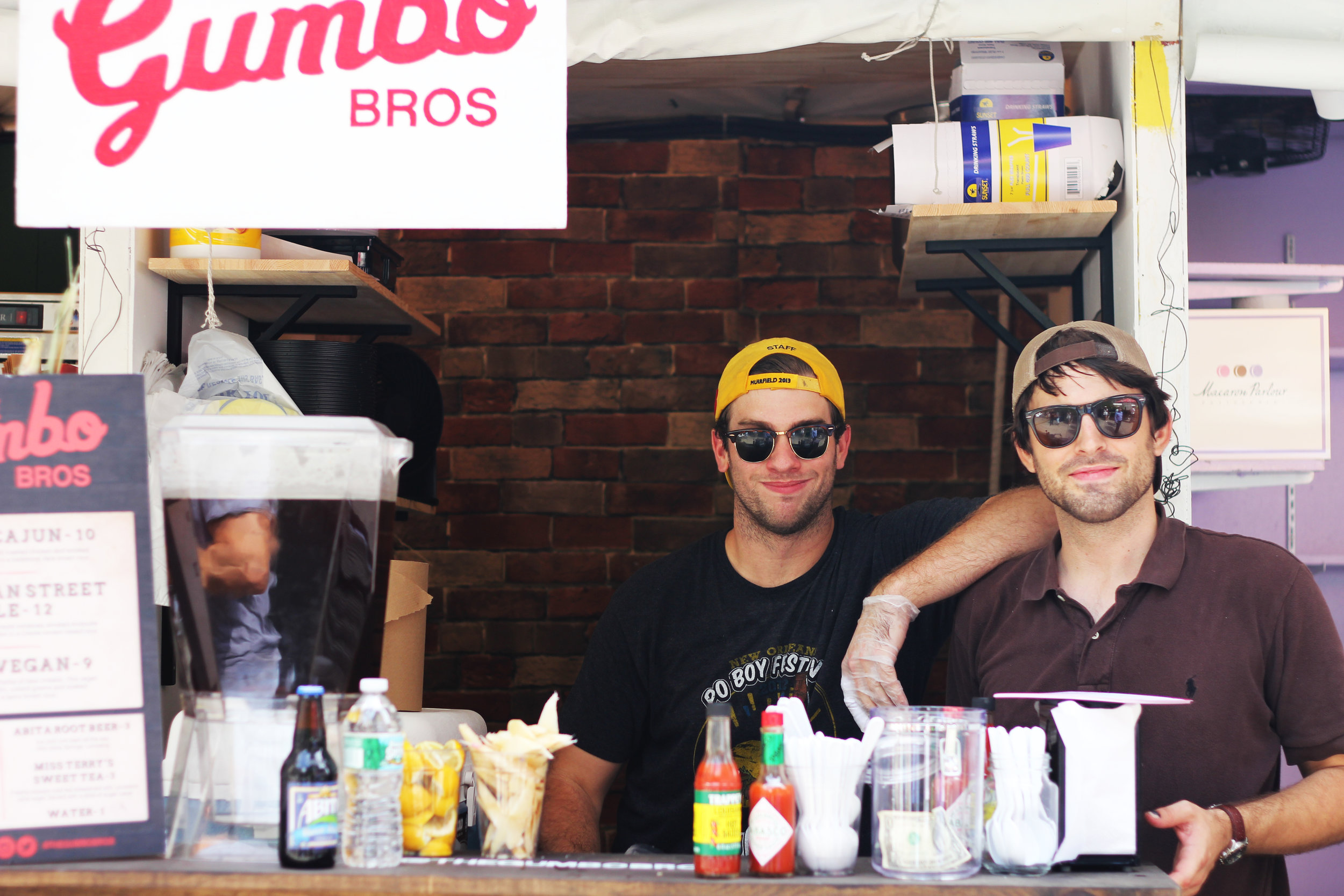 Flashback to 2014, Gumbo Bros debut at Mad. Sq. Eats