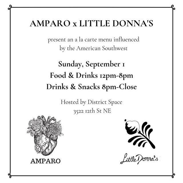 Today's the (last) day, folks! Come in, say hi, say bye. We have @amparofondita and @littledonnas in the kitchen all day and night. Drink specials, food, etc.