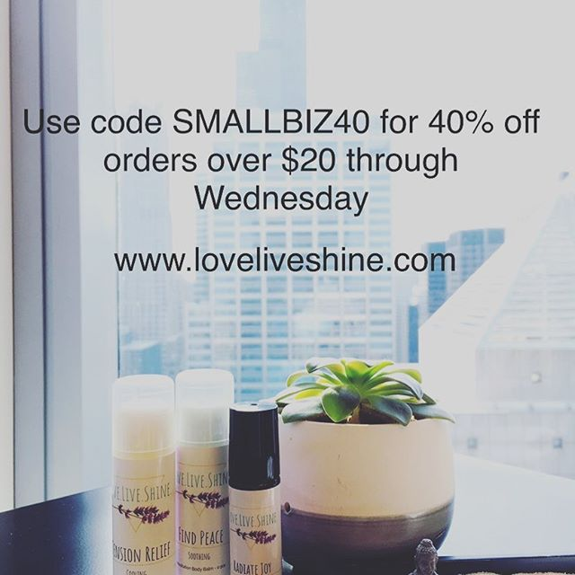 Support small biz with some fun + therapeutic stocking stuffers this Christmas! And surprise... get 40% off until Wednesday! #smallbiz #essentialoils #meditation #smallbizsaturday #loveliveshineshop #authentic #balance #selfcare #selflove