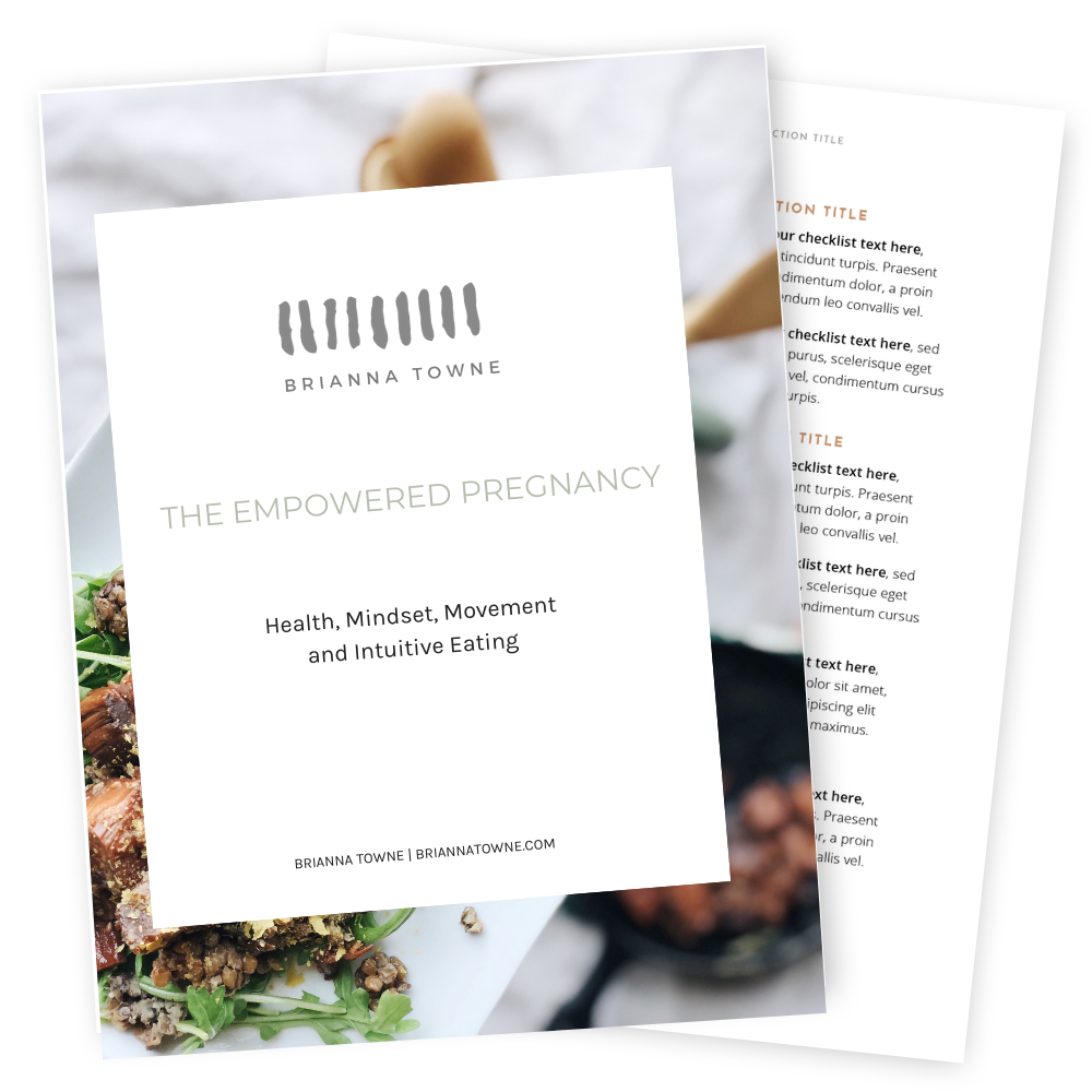 Empowered Pregnancy Workbook