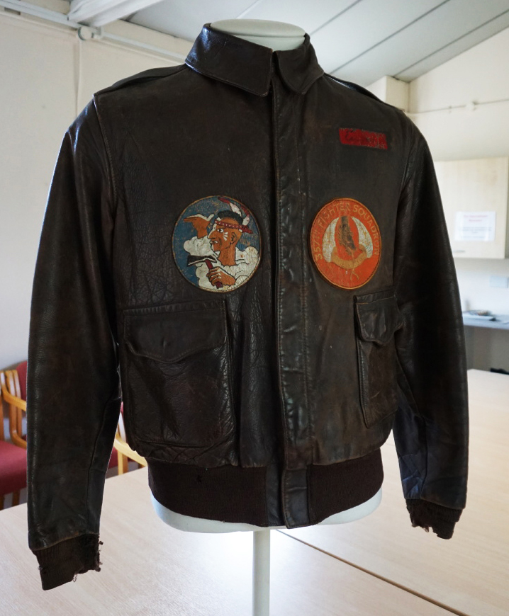 world war ii air force jacket,england - From the collection of the American Air Force Museum in Duxford. You'll have to read the book to understand why it's included.