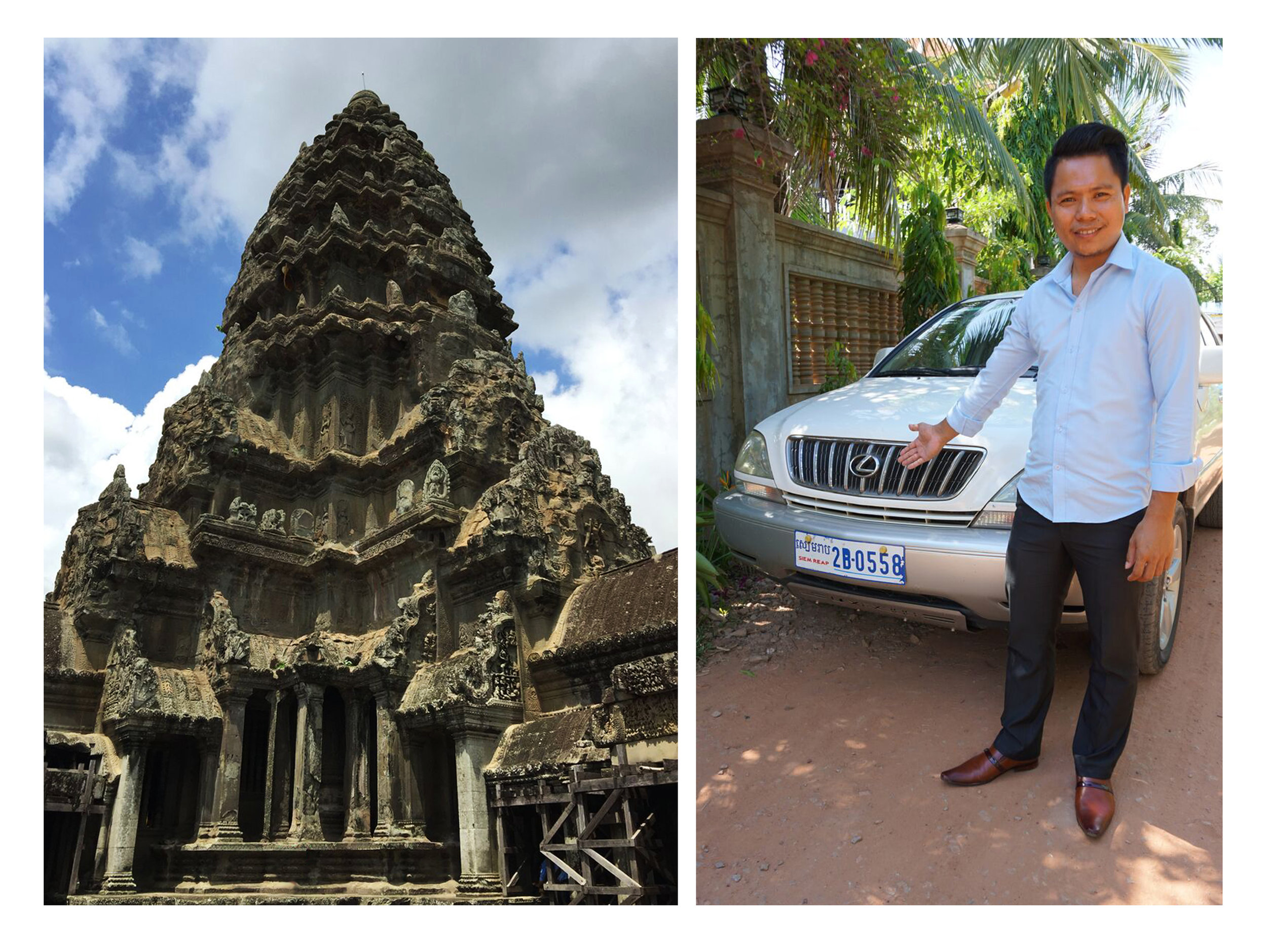 Angkor wat,Cambodia - An example of architecture as frozen music;Mr. Pes Phalla.