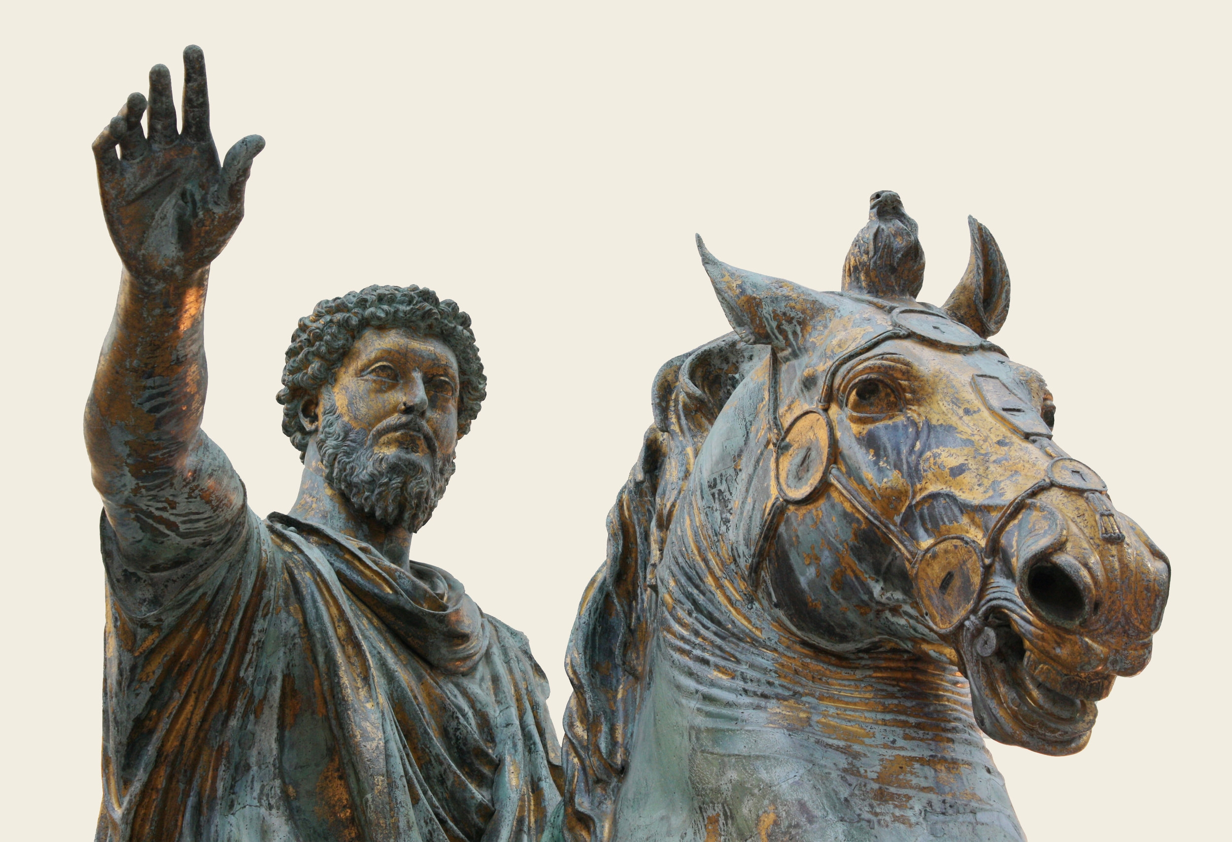 marcus aurelius - 121—180 CE, born in Rome, died in either Vindobona or Sirmium, two Roman provinces. The last of the so-called Five Good Emperors of Rome. Marc-A was a Stoic practitioner heavily influenced by Epictetus, and even though he borrowed extensively from his Stoic predecessor, his work known as Meditations is considered a significant source of our modern understanding of Stoic philosophy.Today I escaped anxiety, Or no, I discarded it, because it was within me, in my own perceptions—not outside.