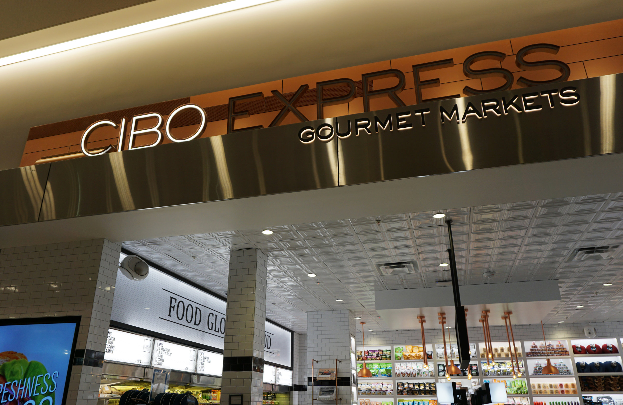 a homophone in houston - CIBO sounds like SIBO (small intestinal bacterial overgrowth), implicated in the cause of chronic diarrhea. Not a great name for an airport food emporium.