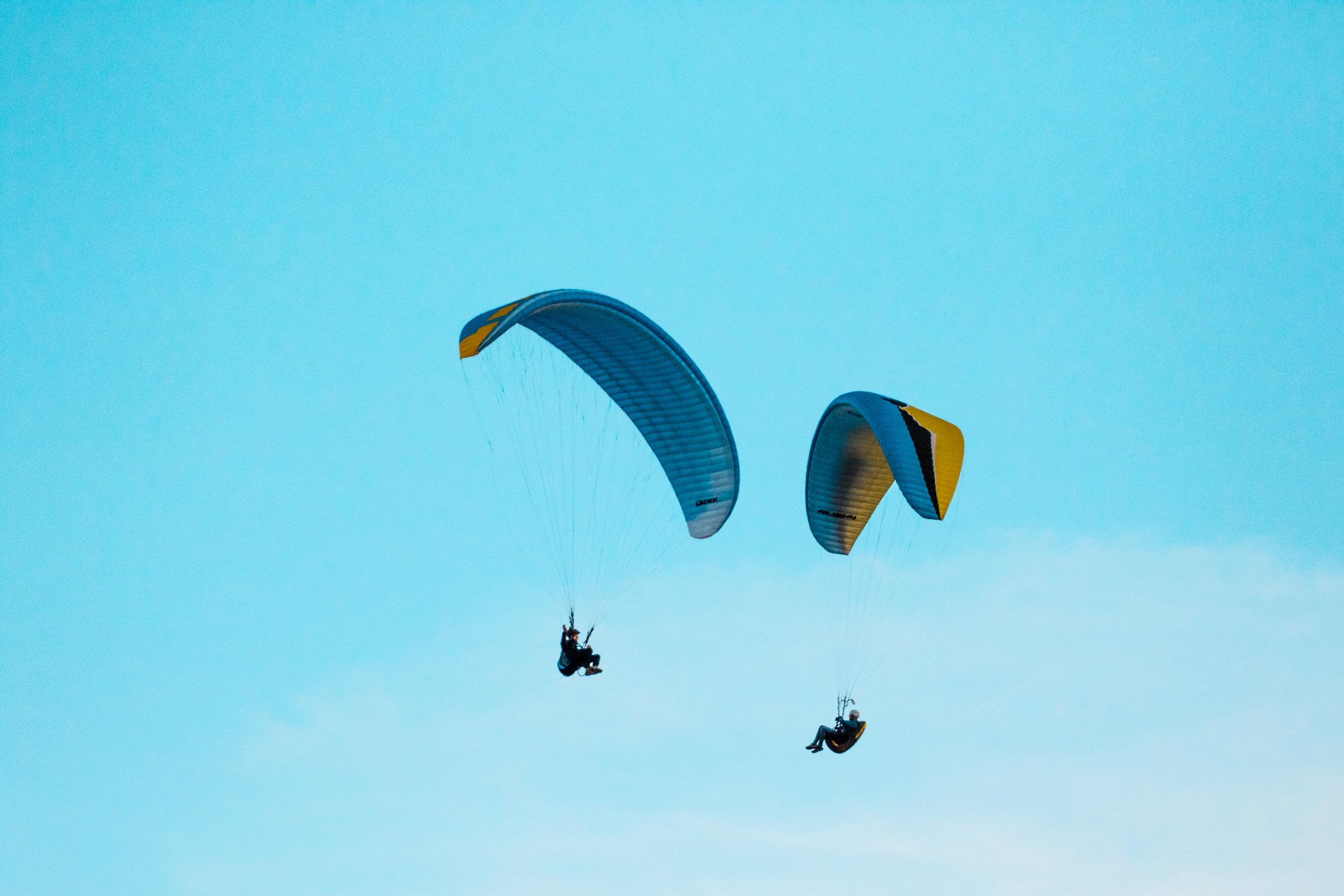 Paragliding & Zip Lines -
