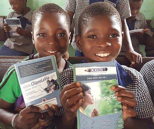 Give $00 and you can help reach 000 people with the Gospel. -