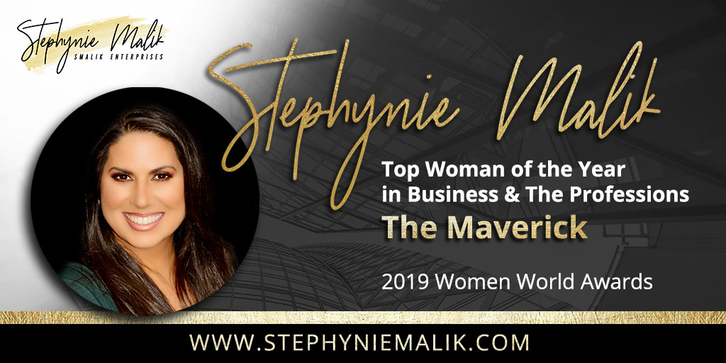 Stephynie Malik Honored as The Maverick