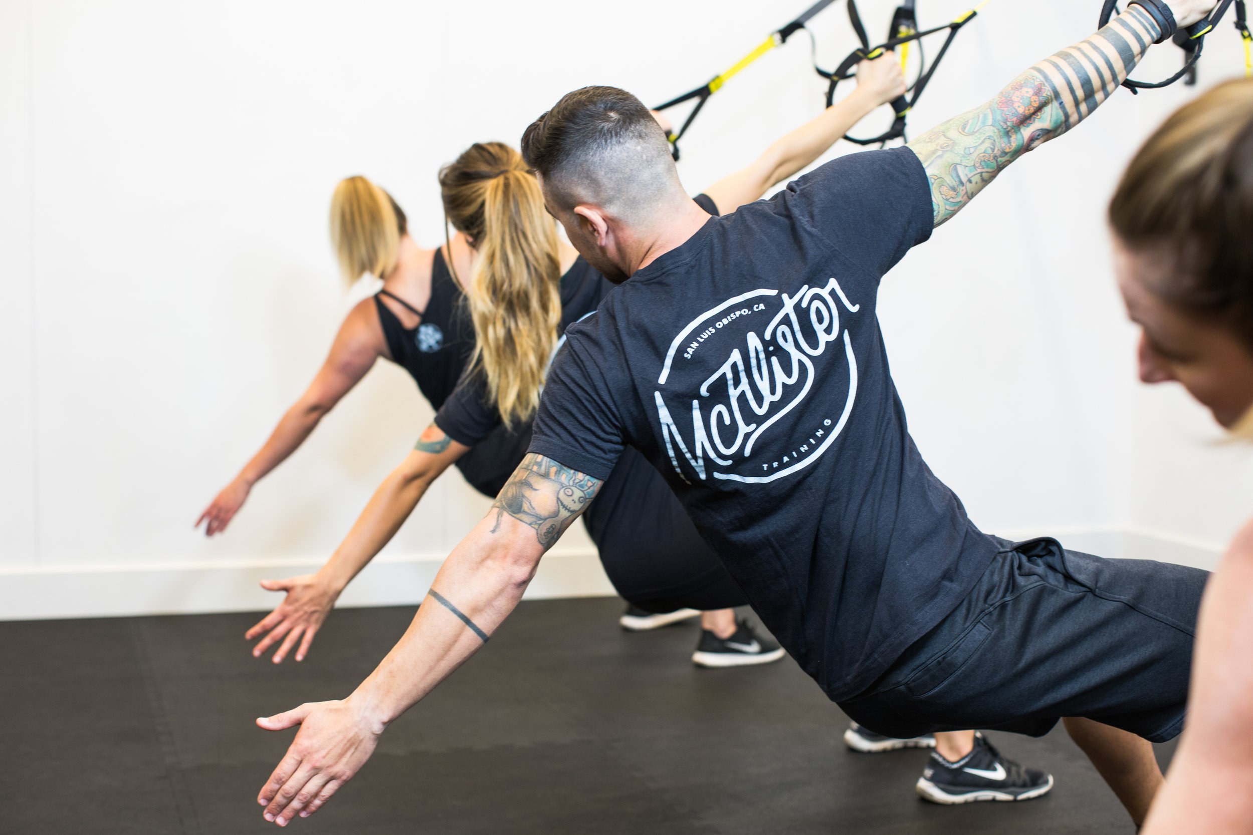 McAlister Training, a fitness studio in San Luis Obispo