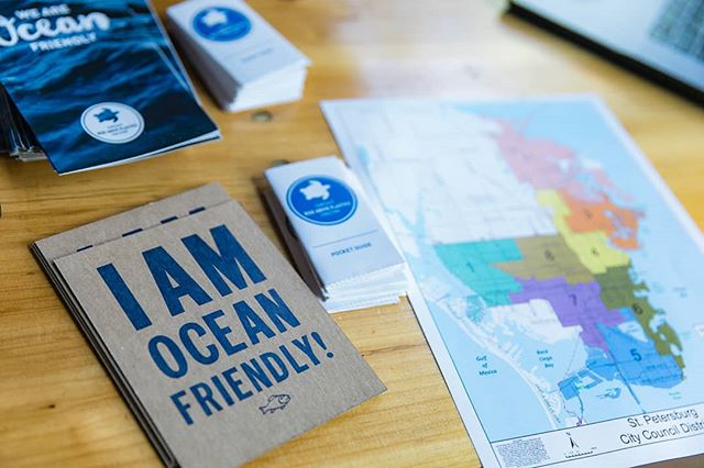 Want to be #oceanfriendly with us?  Reach out to us today for opportunities to join our summer street teams! Make some new friends, and spend your summer visiting new places, protecting our oceans and supporting our local businesses. It takes a village!  #volunteer #makeadifference #protectmarinelife #protecthumanhealth #supportlocal #lovetheocean #changemakers #positivechange #stepbystep #yayforearth #bethechange #doitforthekids #stpetersburgflorida #stpeteproud #tampabay #igerstpete #scrap #scrapplastic