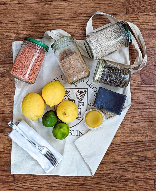 Doing plastic free July on a budget? Us too! What are your best cost+plastic saving tips? We like to:  - Bring our old (clean!) jam jars to the Bulk Aisle. Check in with store staff first and make sure to get the tare weight of your jar so you are not paying for the weight of your container 🙂  - Switch to solid shampoo and conditioner bars. Store them on something airy, like a good soap rack or a piece of natural sponge - this prevents them from getting goopy and they last longer.  - Carry a fork in our purse. It can definitely be one of those cute bamboo sets, but a fork from home rolled in piece of cloth (to keep it clean) works perfectly for most of us.  - Bring reusable bags to the store. If you don't have any, ask  around. Some of us have closets overflowing with bags from various conferences and trade shows. Sharing is caring!  - Skip the produce bags, or fashion some of your own out of old t-shirts. All it takes is 10 minutes, a pair of scissors, and some knots -  https://mommypotamus.com/no-sew-t-shirt-tote-bag-tutorial/  #oceanfriendly #plasticfree #plasticfreejuly #ecoonabudget  #plasticfreeforthesea #volunteer #babysteps #makeachange #makeadifference #yayforearth #plasticocean #plasticpollution #oceanfriendly #protectmarinelife