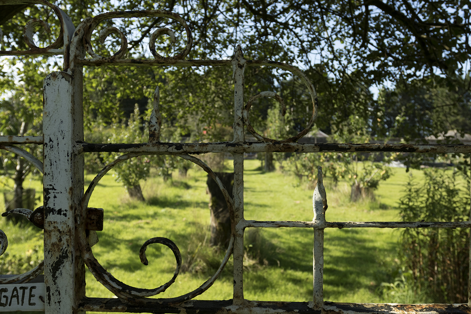 Gate into our Walled Garden