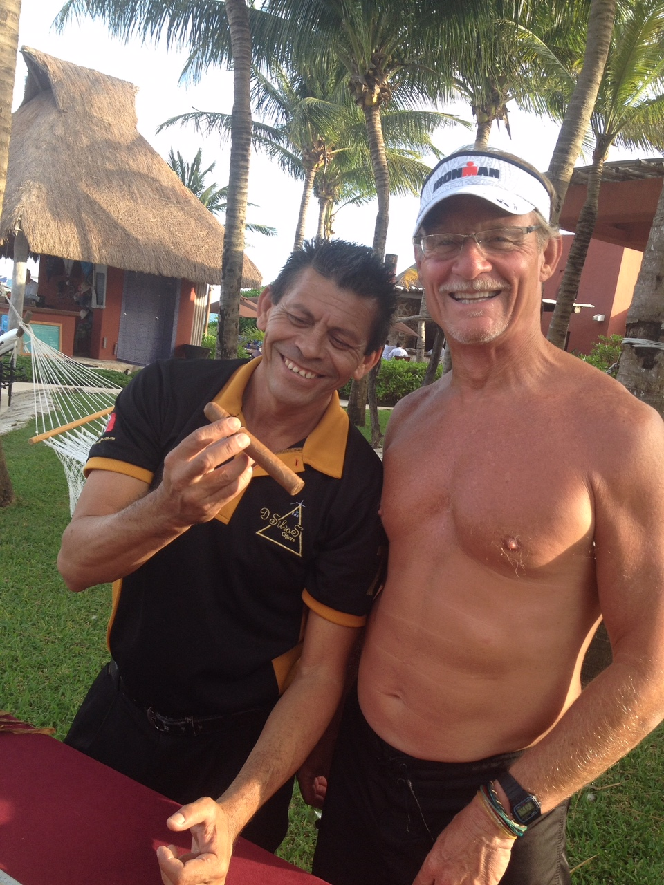 Custom made cigar after Ironman Mexico 2015