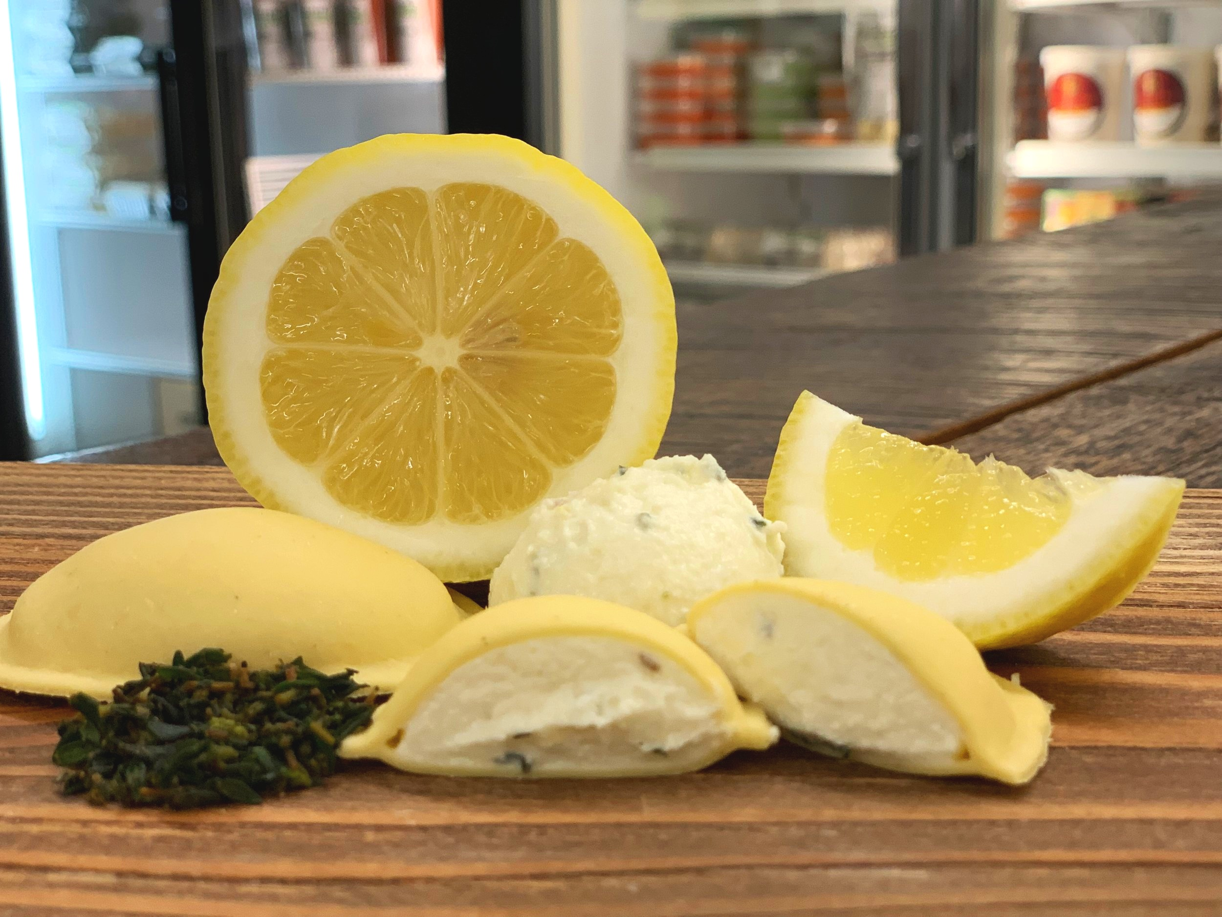 Goat Cheese with Fresh Thyme and Lemon