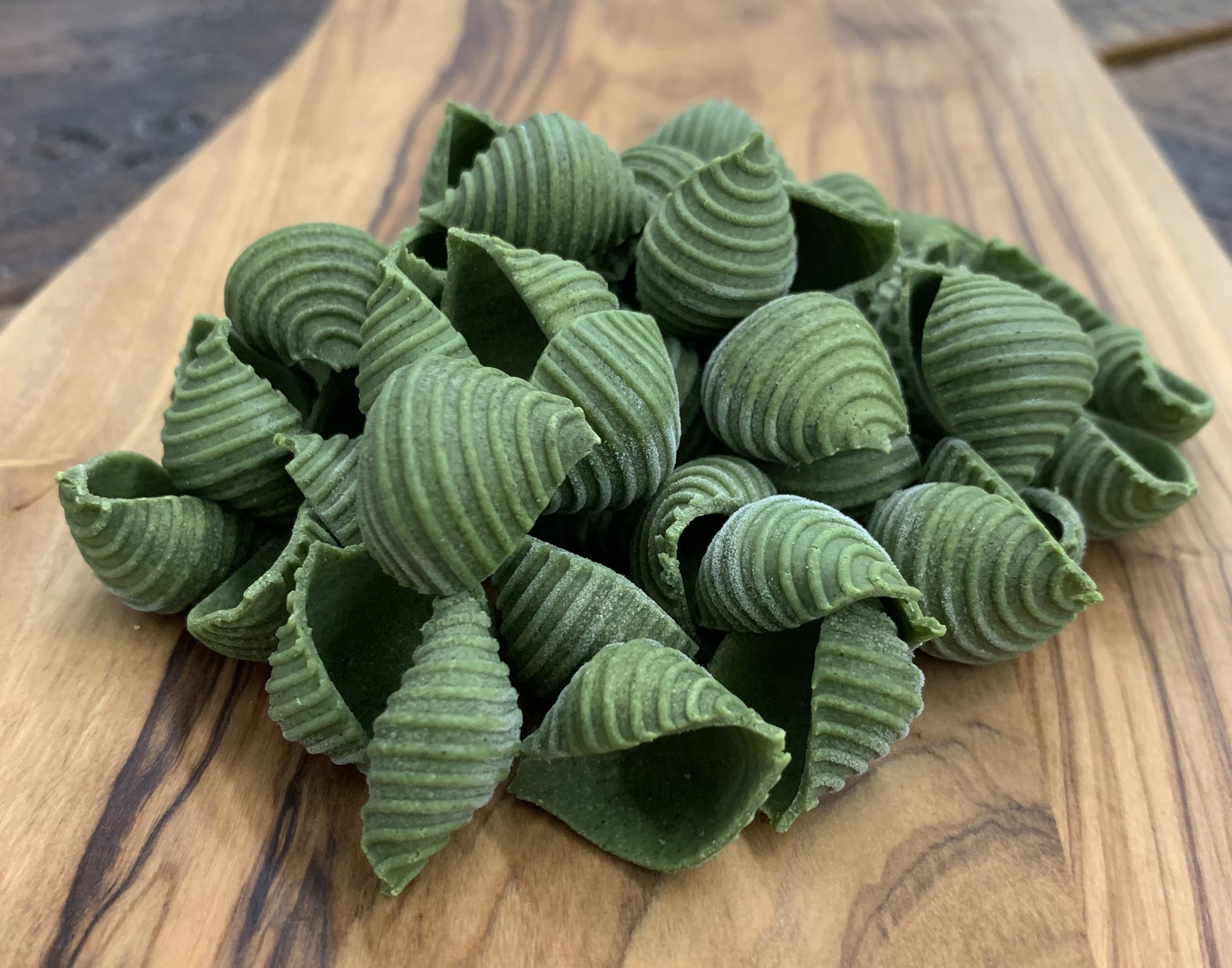 Spinach Shells