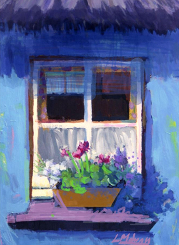 """The Sunny Spot"" by artist and art teacher Lisa Mahony."