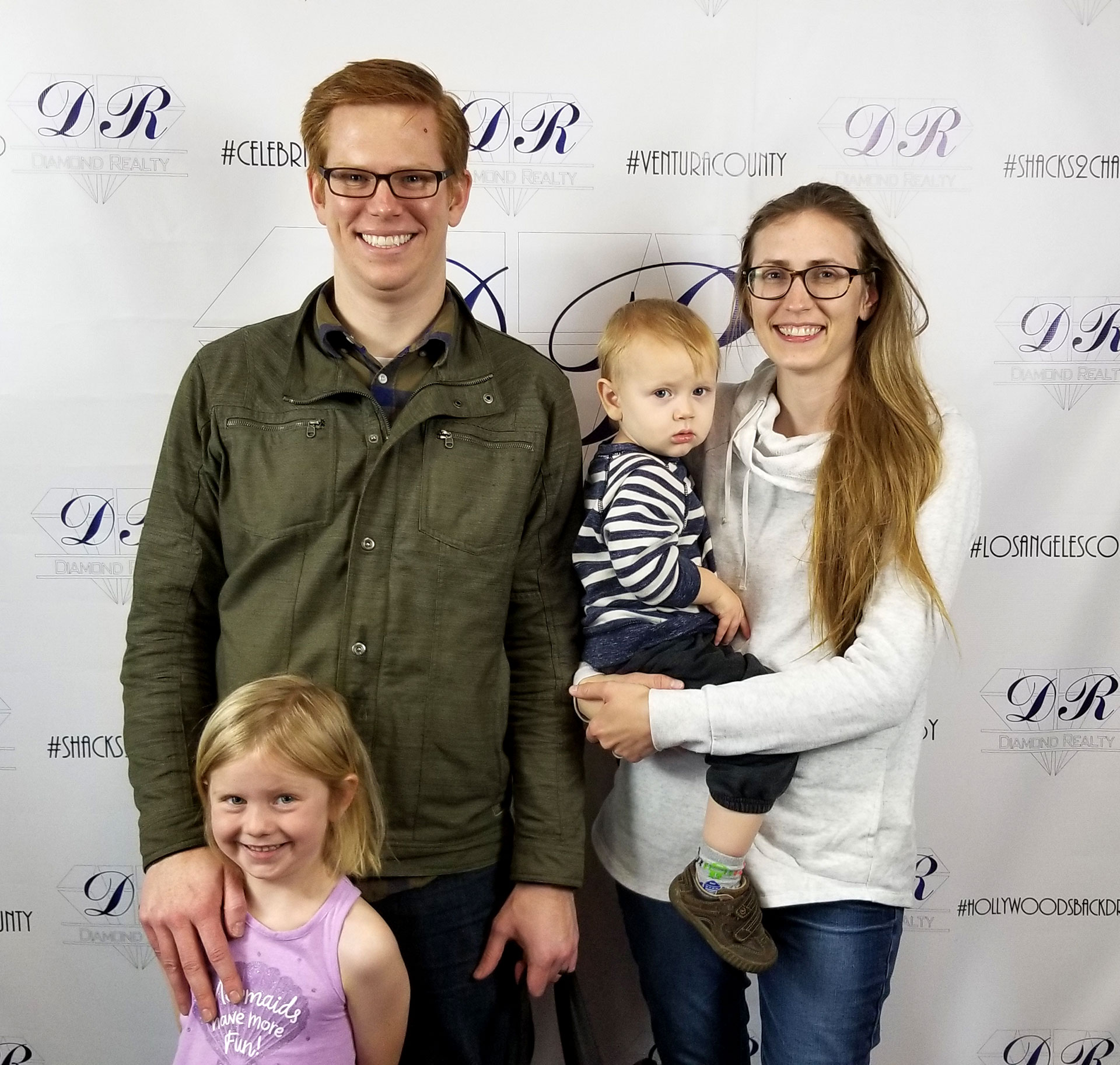The Peterson Family at Diamond Realty in Fillmore