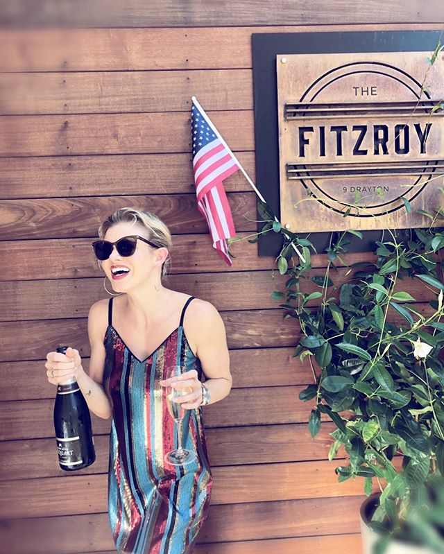 Looking for a place to celebrate America? Join us at the Fitzroy this 4th of July. We will be serving up new cocktails and a bar menu until 11. It's sure to get you in the patriotic spirit! 🇺🇸🥂🎈