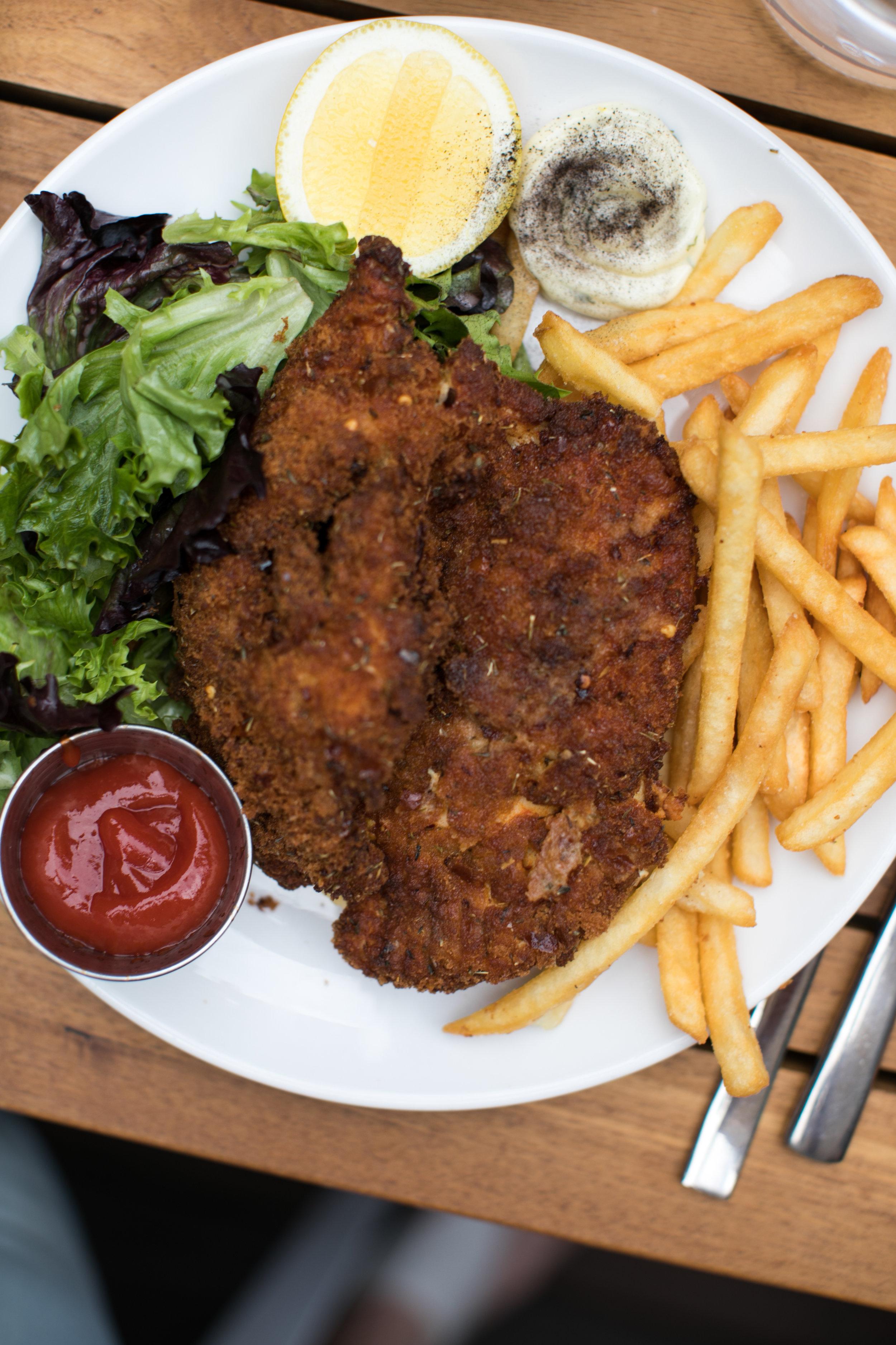 Aussie Pub Classic Chicken Schnitzel