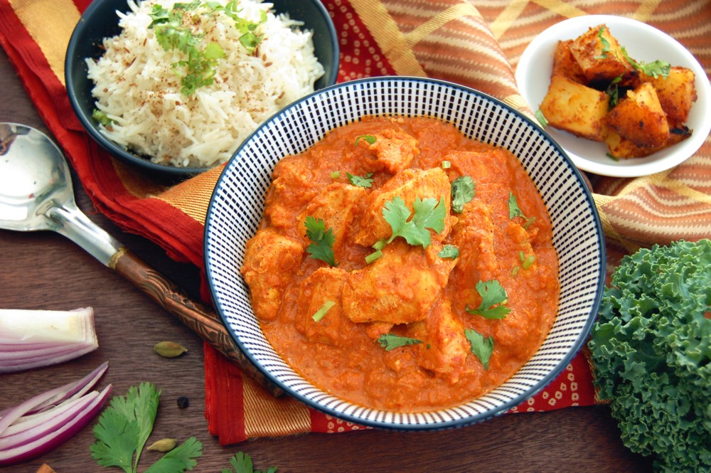 CHICKEN TIKKA MASALA - {Made with Arvinda's Tikka Masala}This aromatic tomato based curry is so popular that it's also known as CTM for short! Make this delicious restaurant favourite with ease in your own home using Arvinda's Tikka Masala. Try with paneer, an Indian pressed cheese, for a vegetarian substitute.