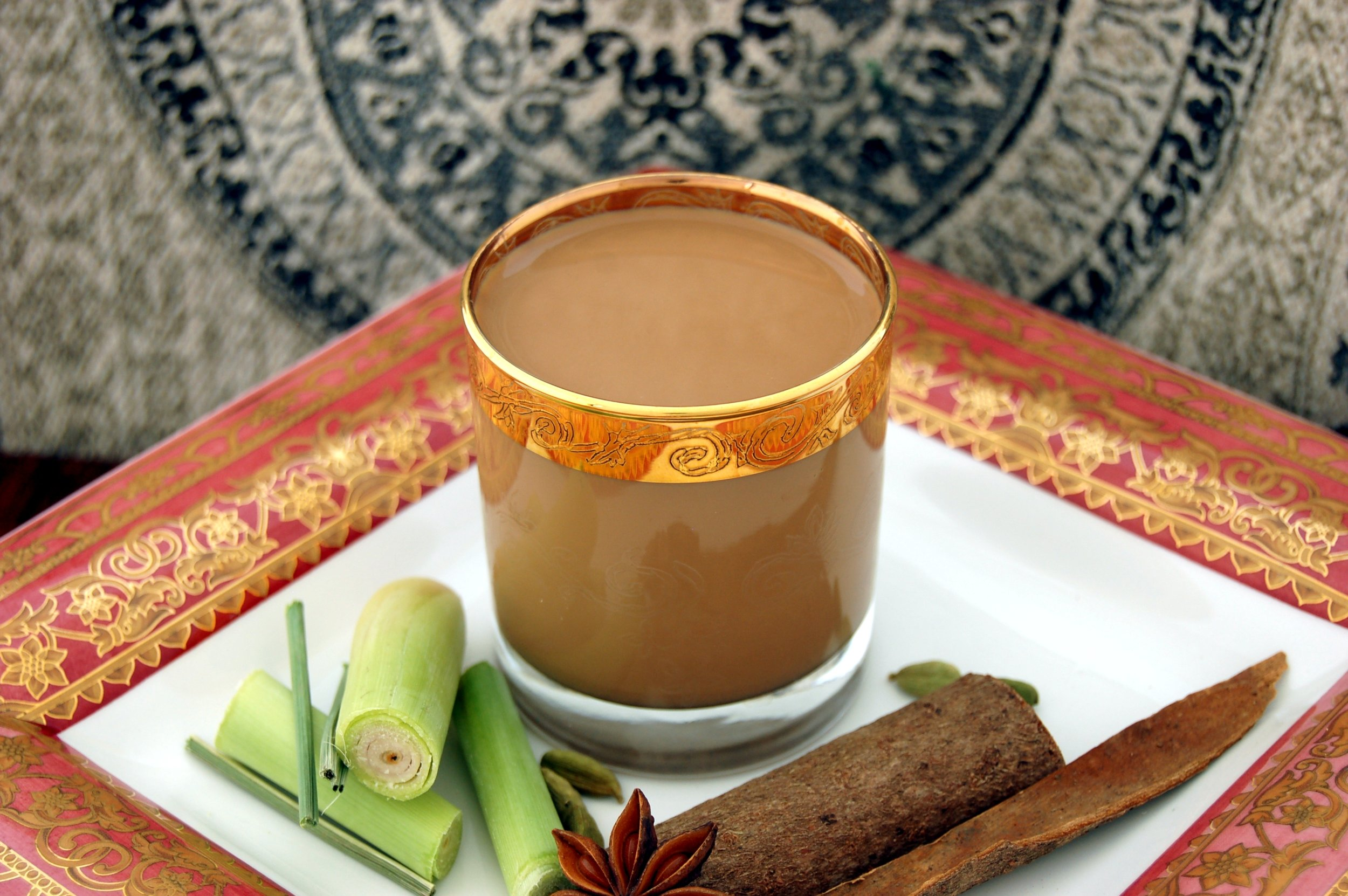 Lemongrass Gingery Masala Chai - COMING SOON!