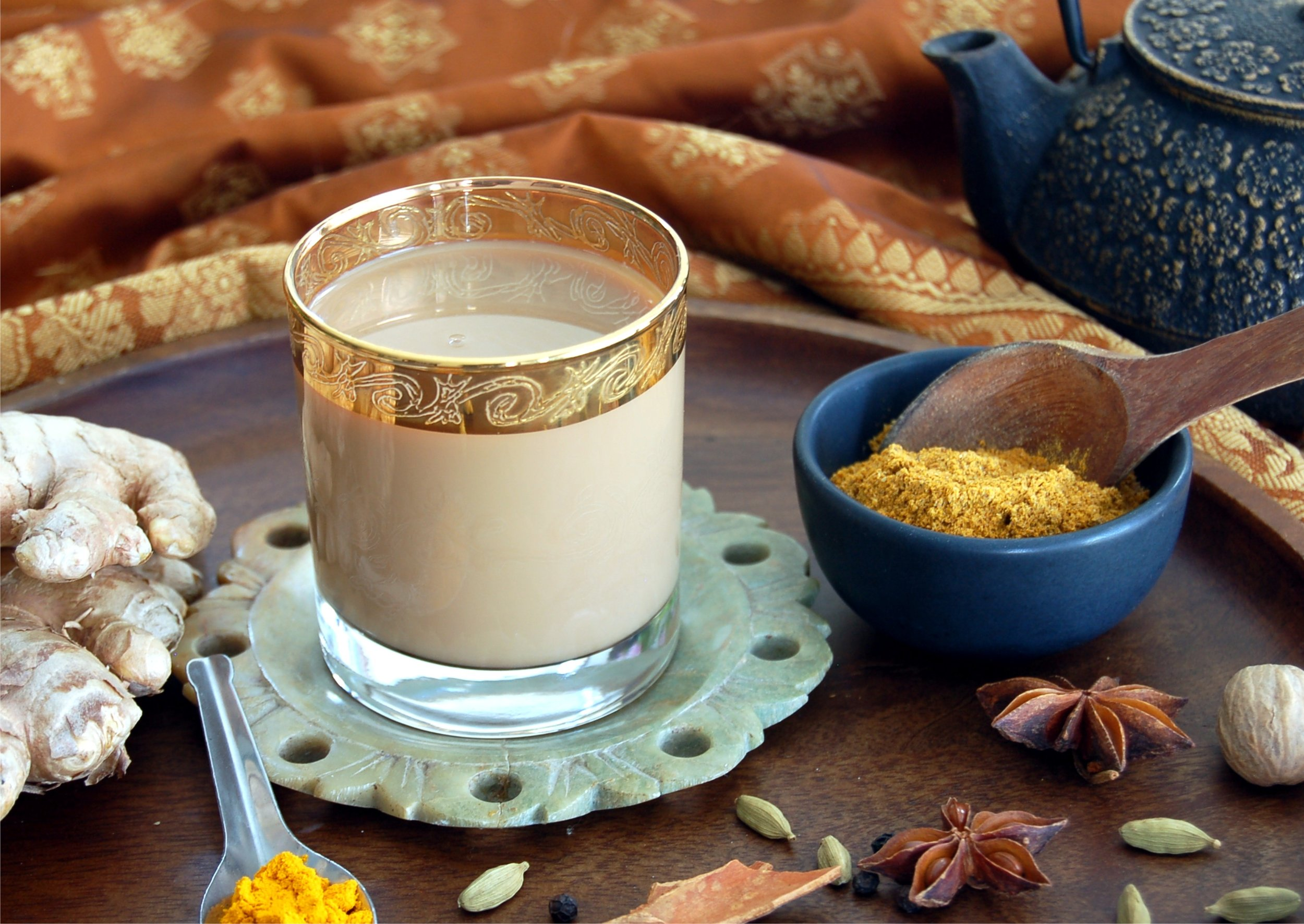 Authentic Healing Turmeric Masala Chai