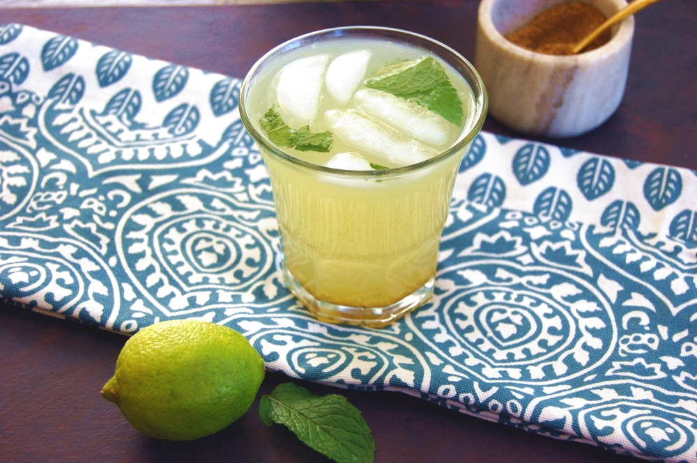 Indian Spiced Minted Lime Juice - COMING SOON!