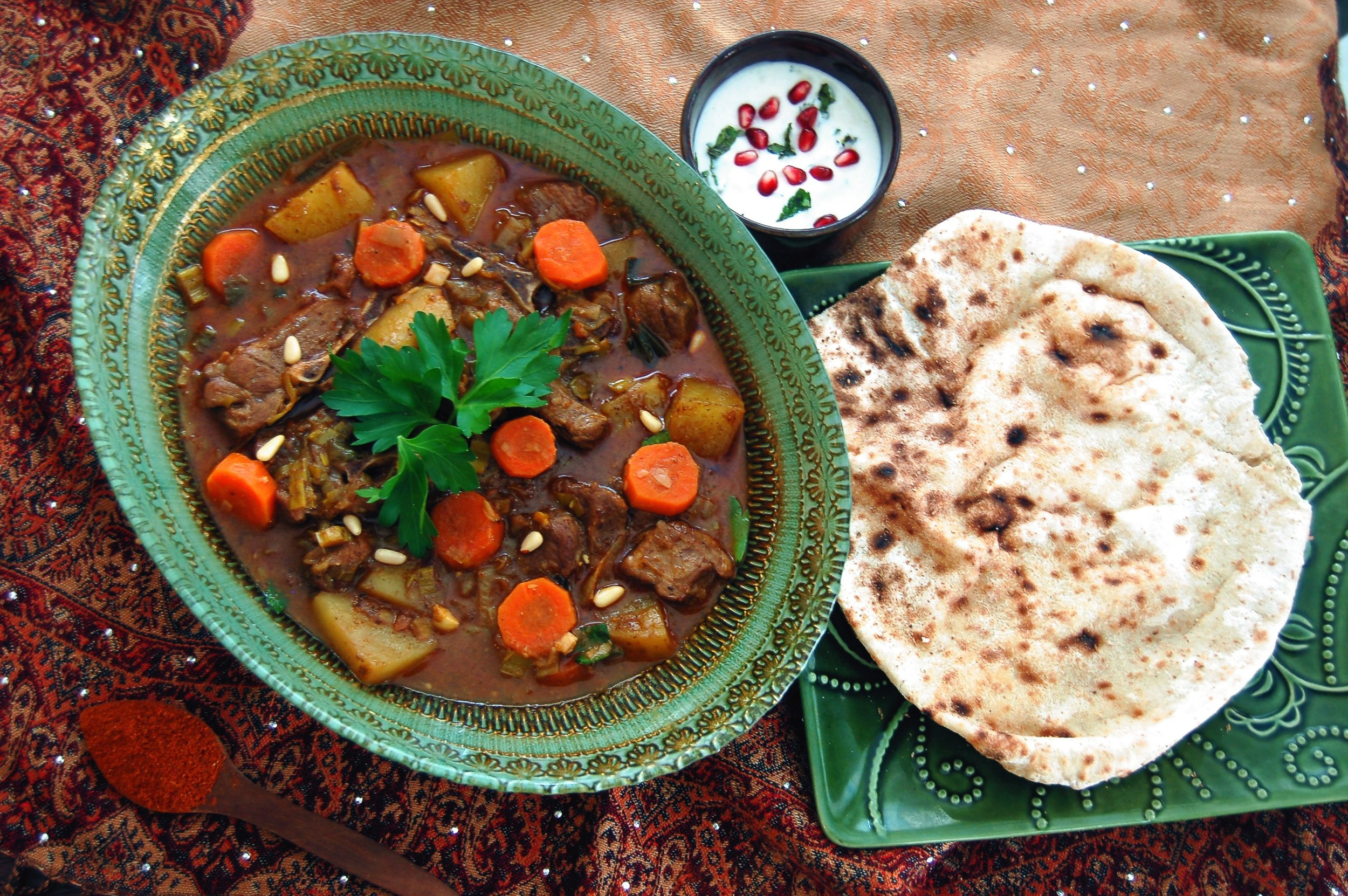 BAHARAT LAMB STEW - {Made with Arvinda's Bishara's Baharat}