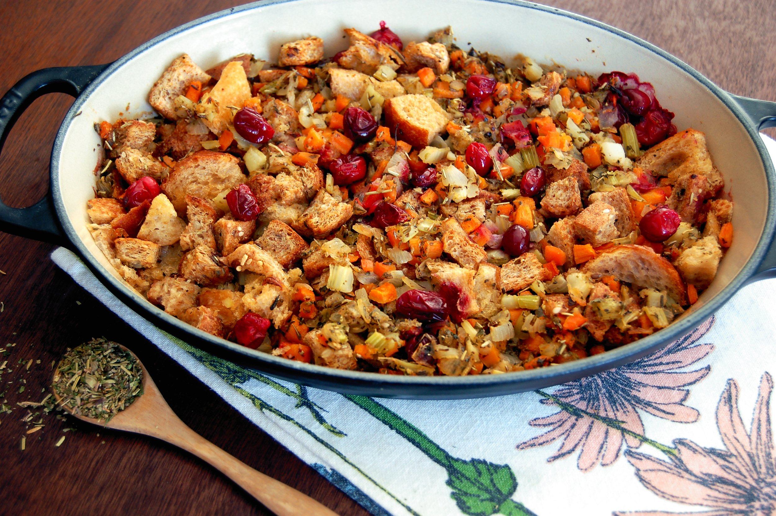 SAVOURY STUFFING - {Made with Arvinda's Savoury Stuffing Blend}