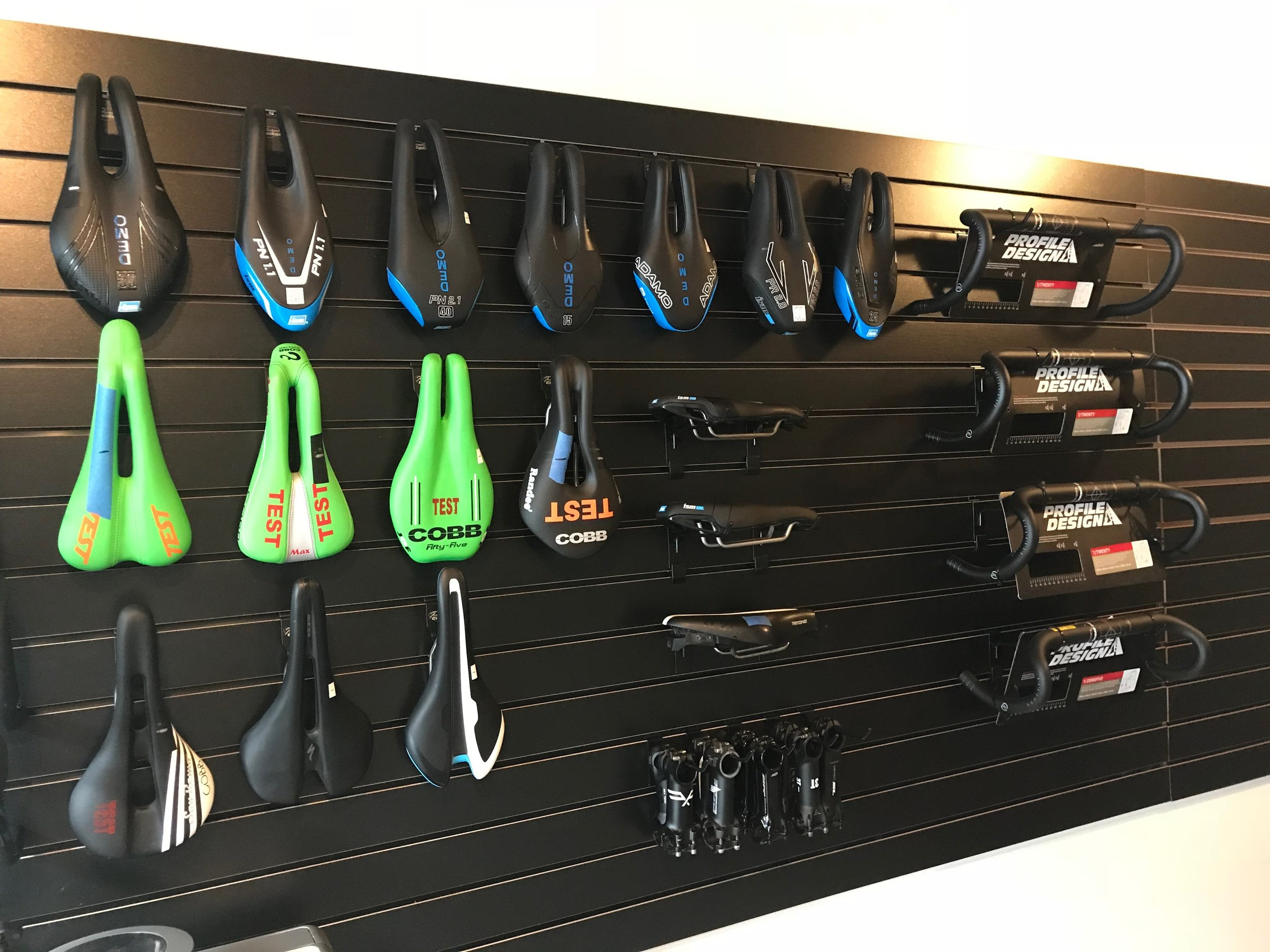 Our Saddle Library at Output Speedlab