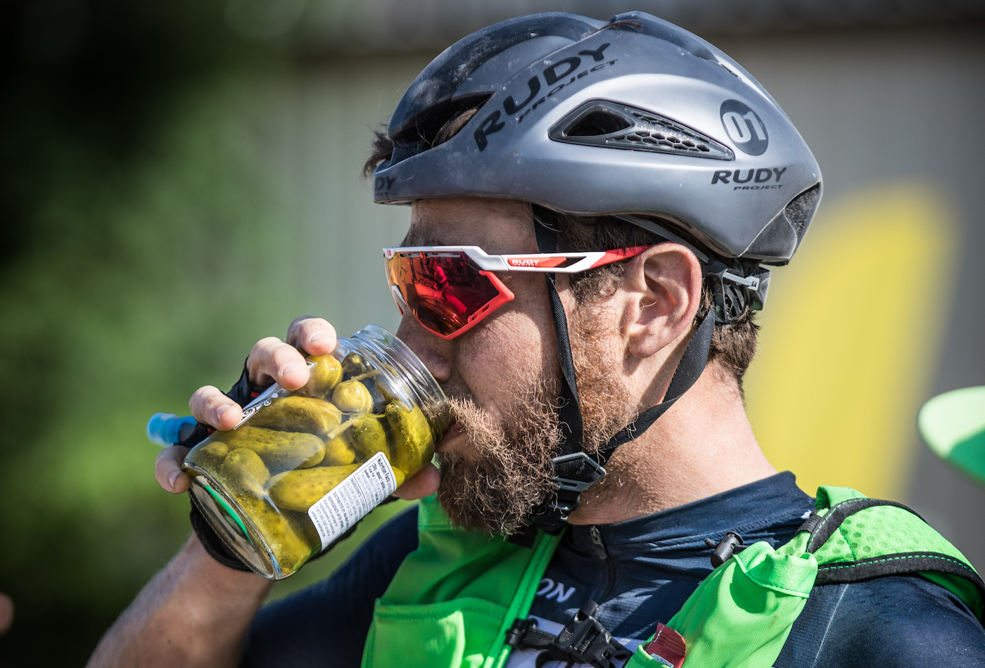 I was dreaming of pickle juice for most of the ride