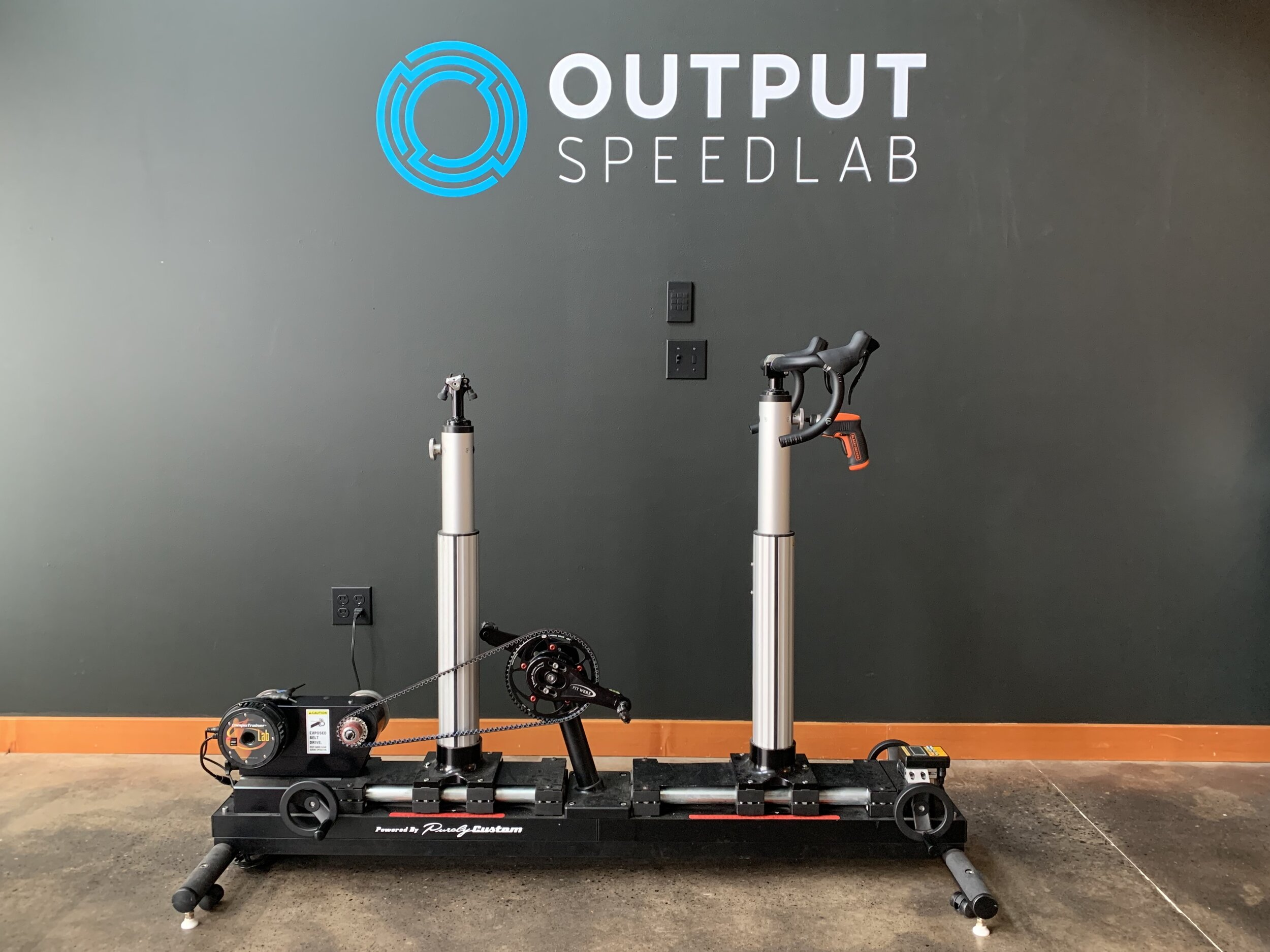DYNAMIC FIT BIKE - The dynamic fit bike allows us to make rapid adjustments and iterations to rider position without the time consuming process of changing out components. This tool also allows us to capture your optimal position prior to purchasing a bike or even needing a bike on hand.