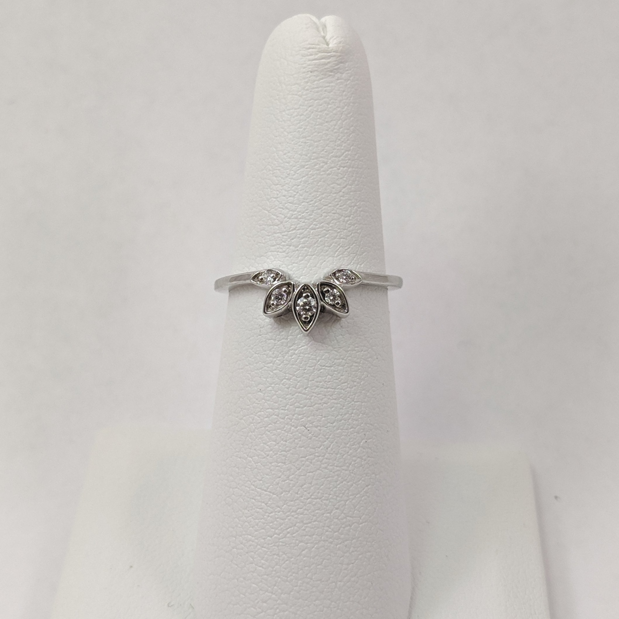 White gold wedding band with recycled diamonds.jpg