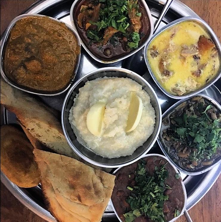 Popular Georgian Food Platter