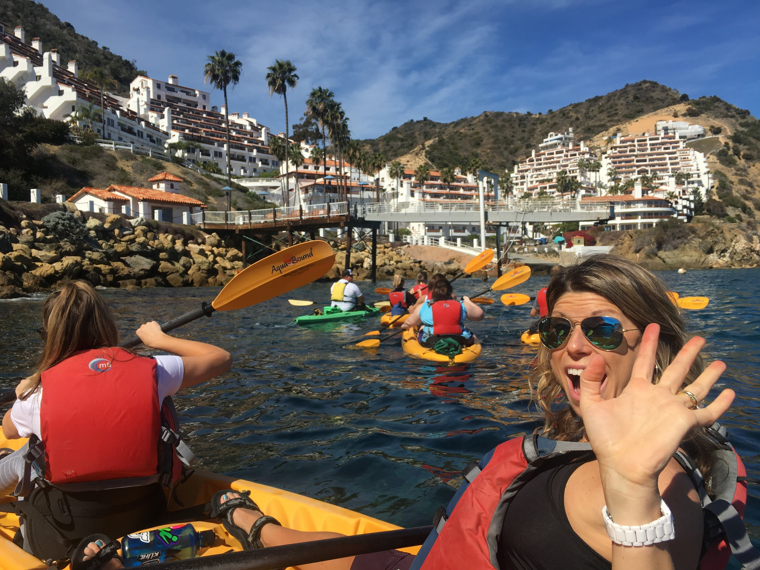 Kayak tour with Descanso Beach Ocean Sports