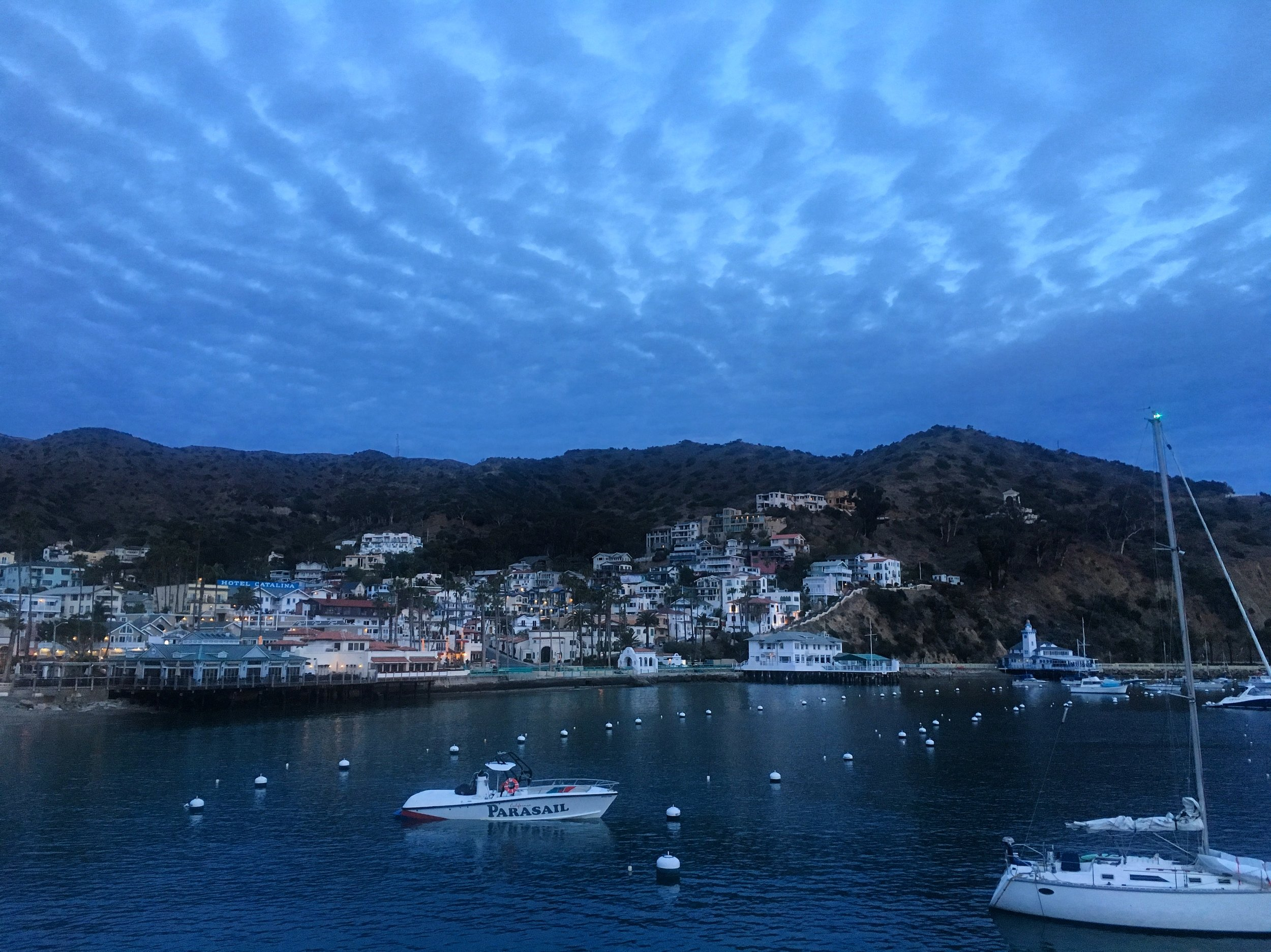 Sunrise on Catalina