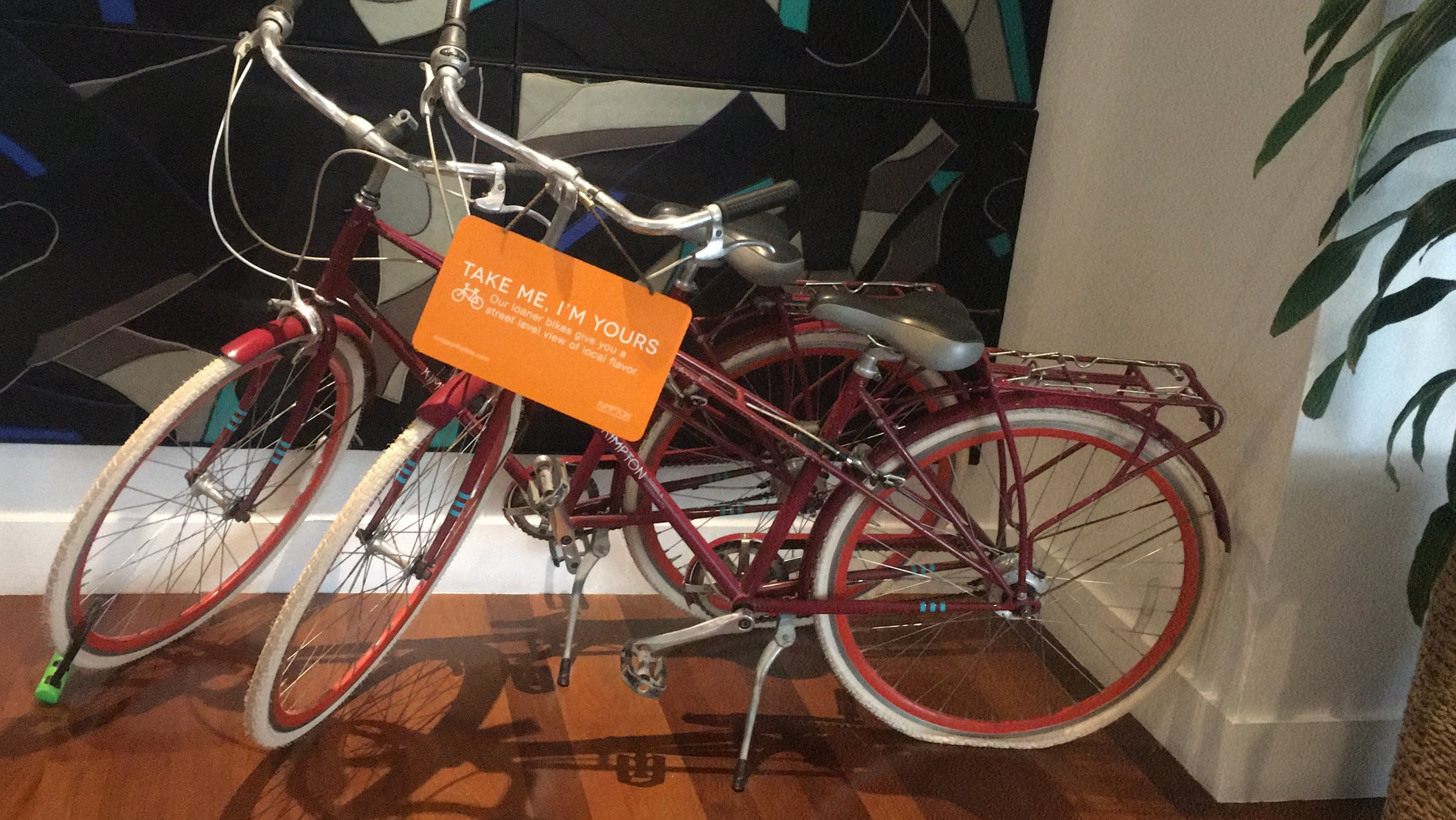 Shorebreak Hotel bicycle rental
