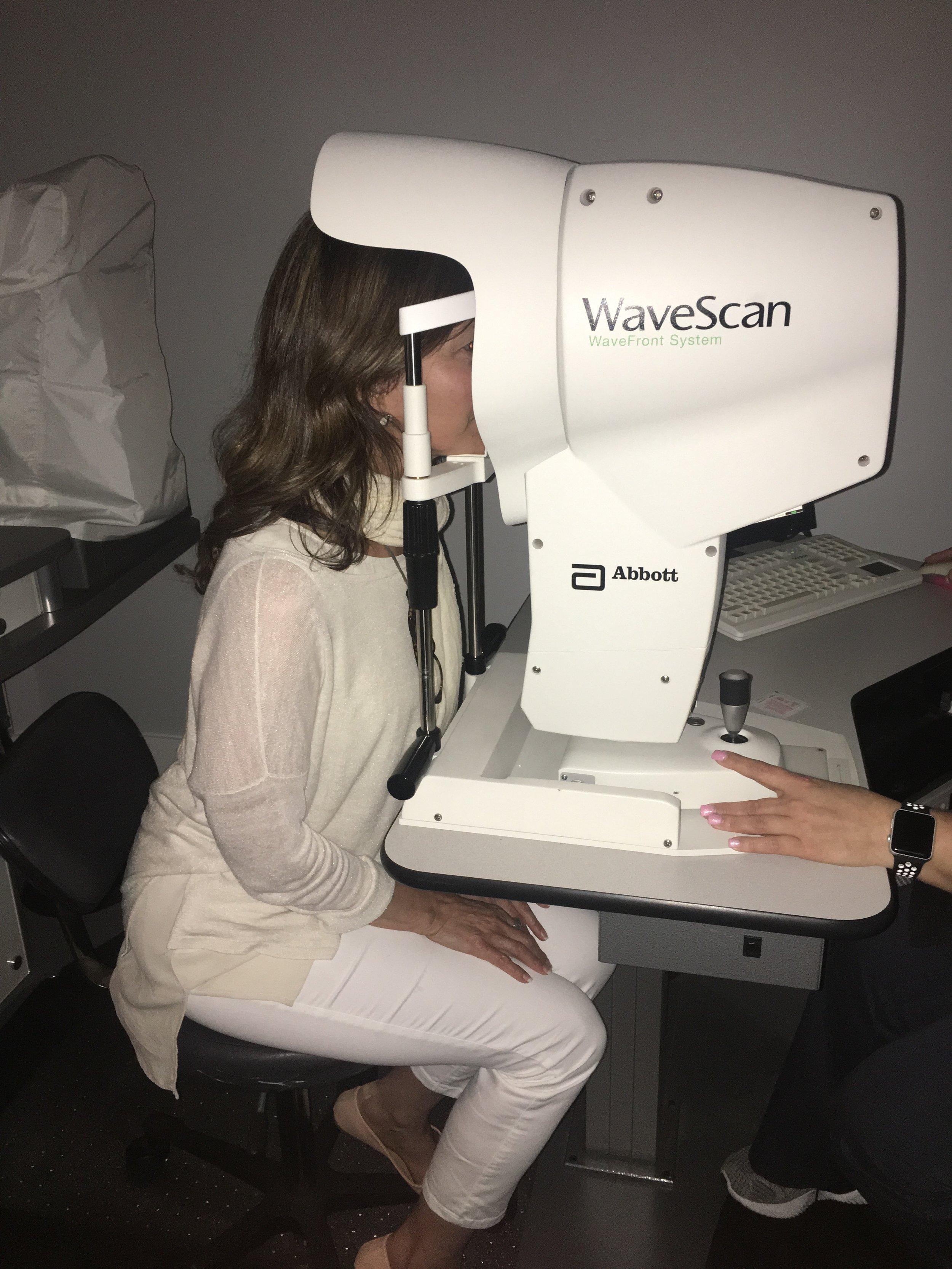 Using NASA telescope technology equipment to record advanced eye measurements