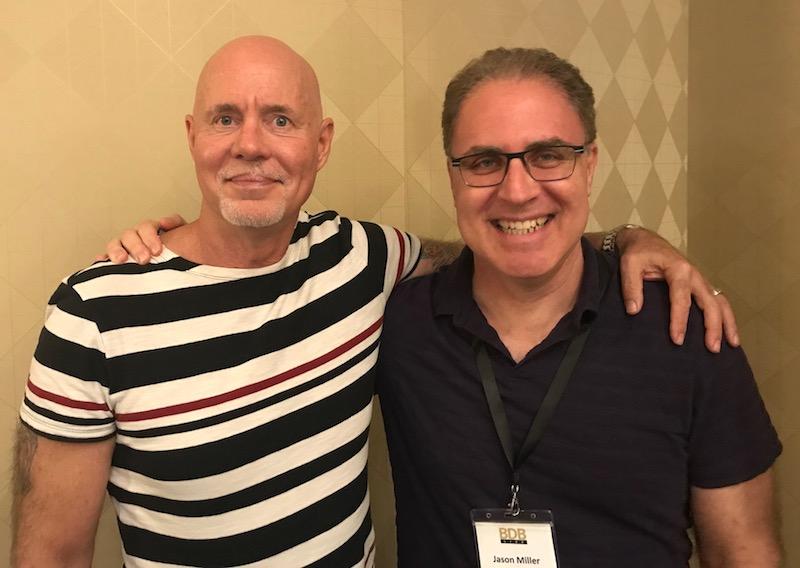 Dr. Robert Glover and myself,2018
