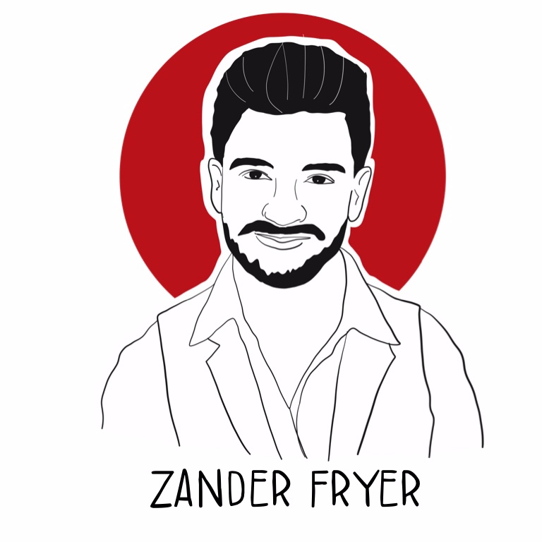 """Zander Fryer, best-selling author, internationally-renowned speaker, and world traveler, is more than just a corporate dropout. After quitting his successful corporate career at age 27, Zander launched his company Sh*t You Don't Learn in College to inspire and empower entrepreneurs to build successful businesses while adding value to the world. His trainings impact over 50,000 people in 22 different countries and more than 300 organizations. Mentor to millionaires, Super Bowl champions, and best-selling authors alike, he is praised as """"the next generation leader"""" by #1 best-selling author Jack Canfield and regarded as """"unstoppable"""" by the President of Massively Human Leadership, Kathleen Seeley. Zander's passion to drive the next generation of leaders to shake this world up is creating a movement."""