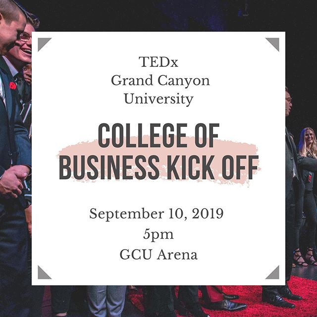 Tonight at 5:00 pm we will be in the arena for the college of business kick off, come find us!