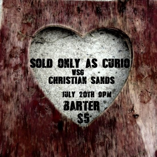 Saturday Show! With special guest 'cello @cellokidcookie @barterdetroit  #soldonlyascurio #saturday #hamtramck #musiciscurious #detroitmusic #detroitbands