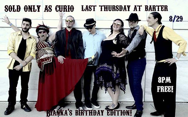 Bianka's Bday show!! 8/29! #soldonlyascurio #detroitmusic #detroitbands #originalmusic #musiciscurious #hamtramck #fuckgenres