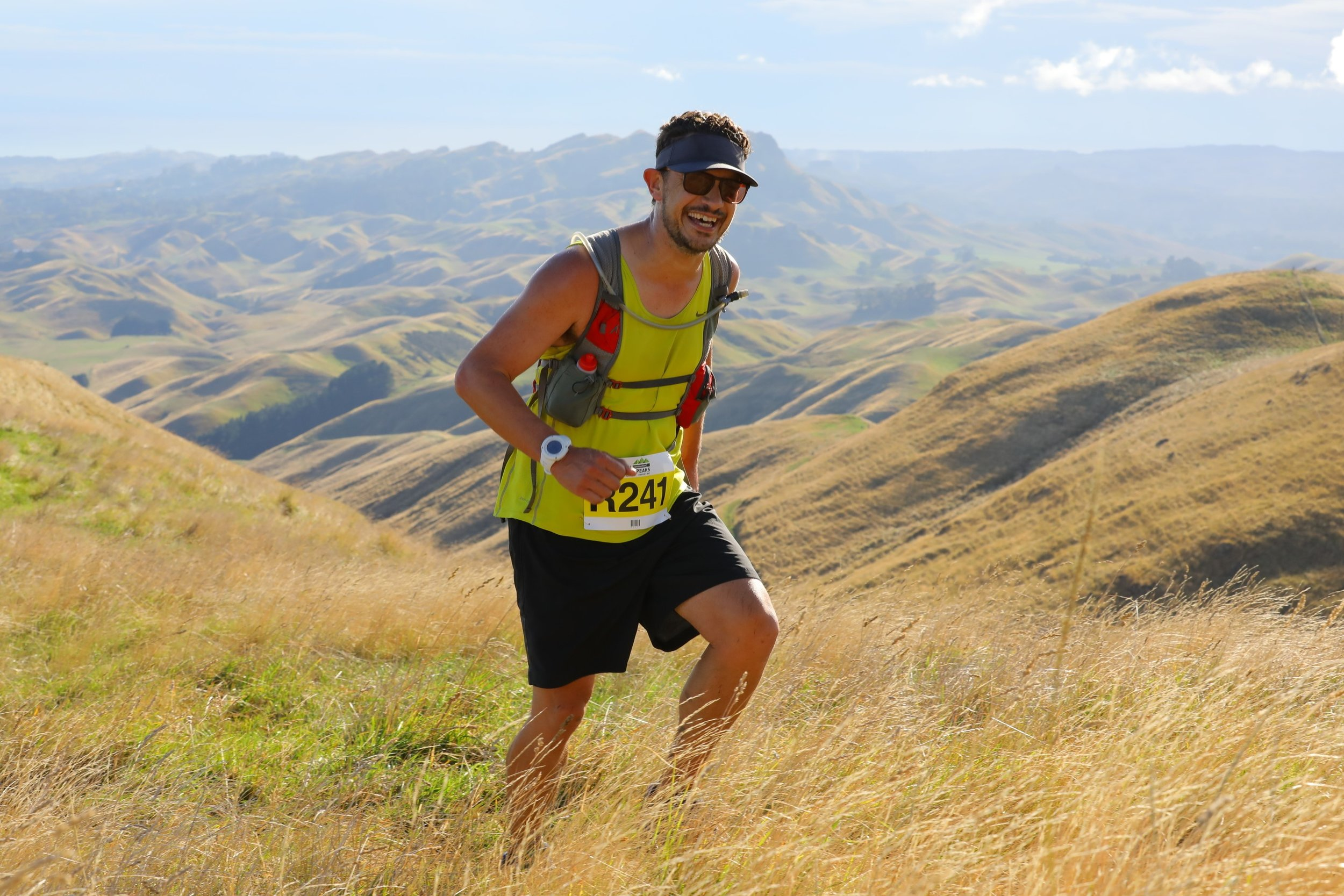 Jonathon Running in the Hills