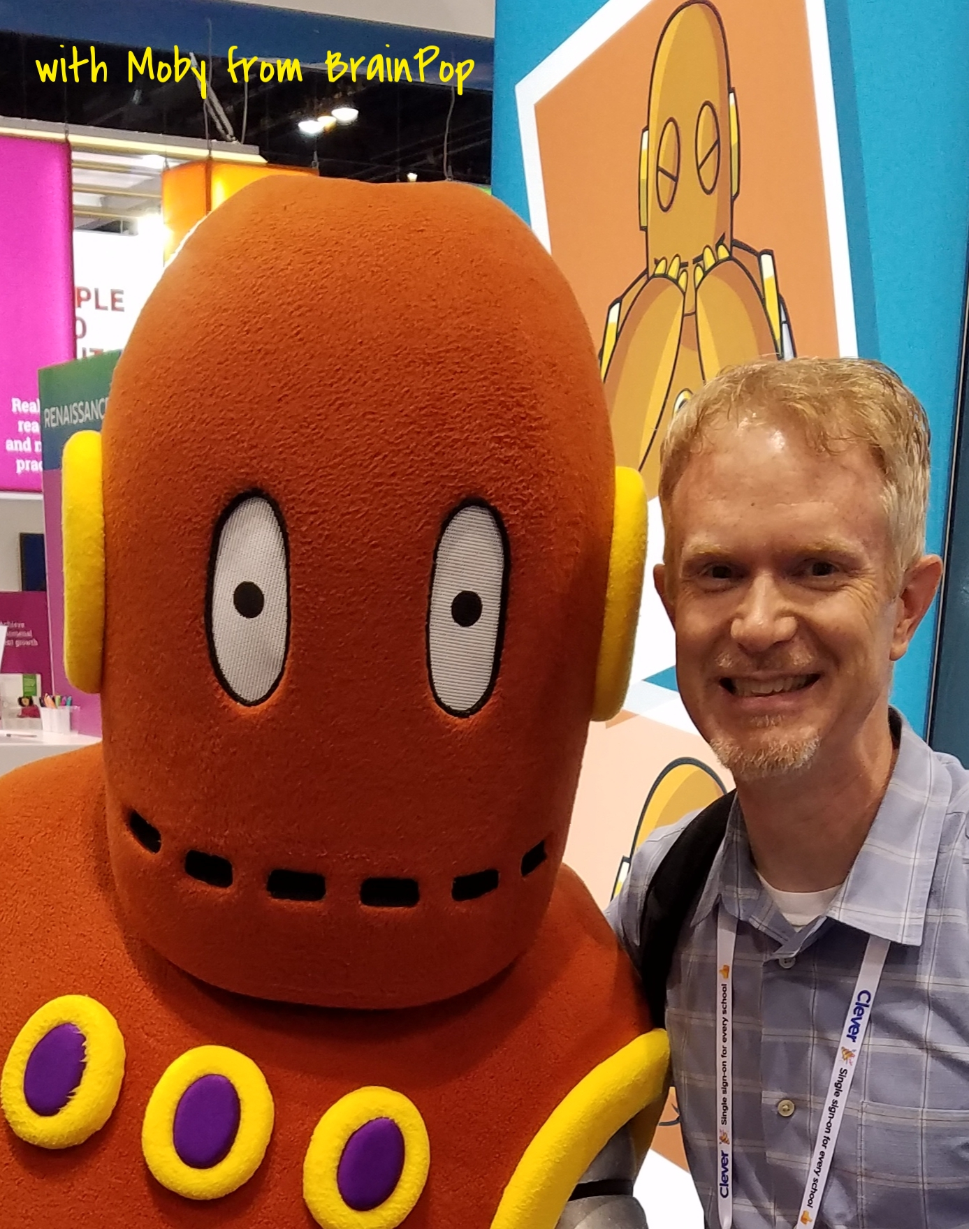 with Moby from BrainPop