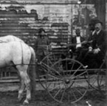 Louis Cohen, far right, Sandersville, GA Courtesy of  The Breman Jewish Heritage & Holocaust Museum