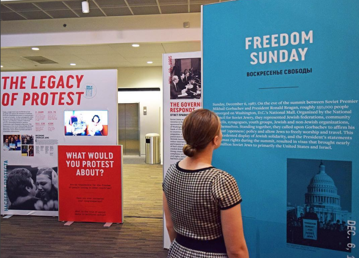 """""""Power of Protest: The Movement to Free Soviet Jews"""" at NMAJH"""