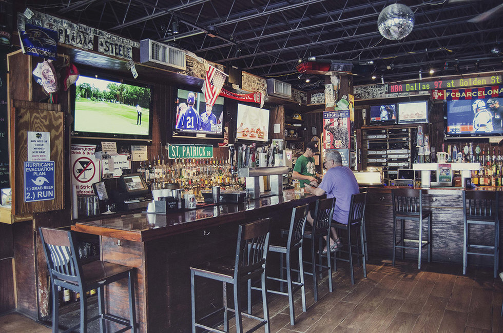 Mother's Pub and Grill - University Location1017 W University Ave, Gainesville, FL 32601(352) 378-8135North Location5109 NW 39th Ave, Gainesville, FL 32606 (352) 727-4722