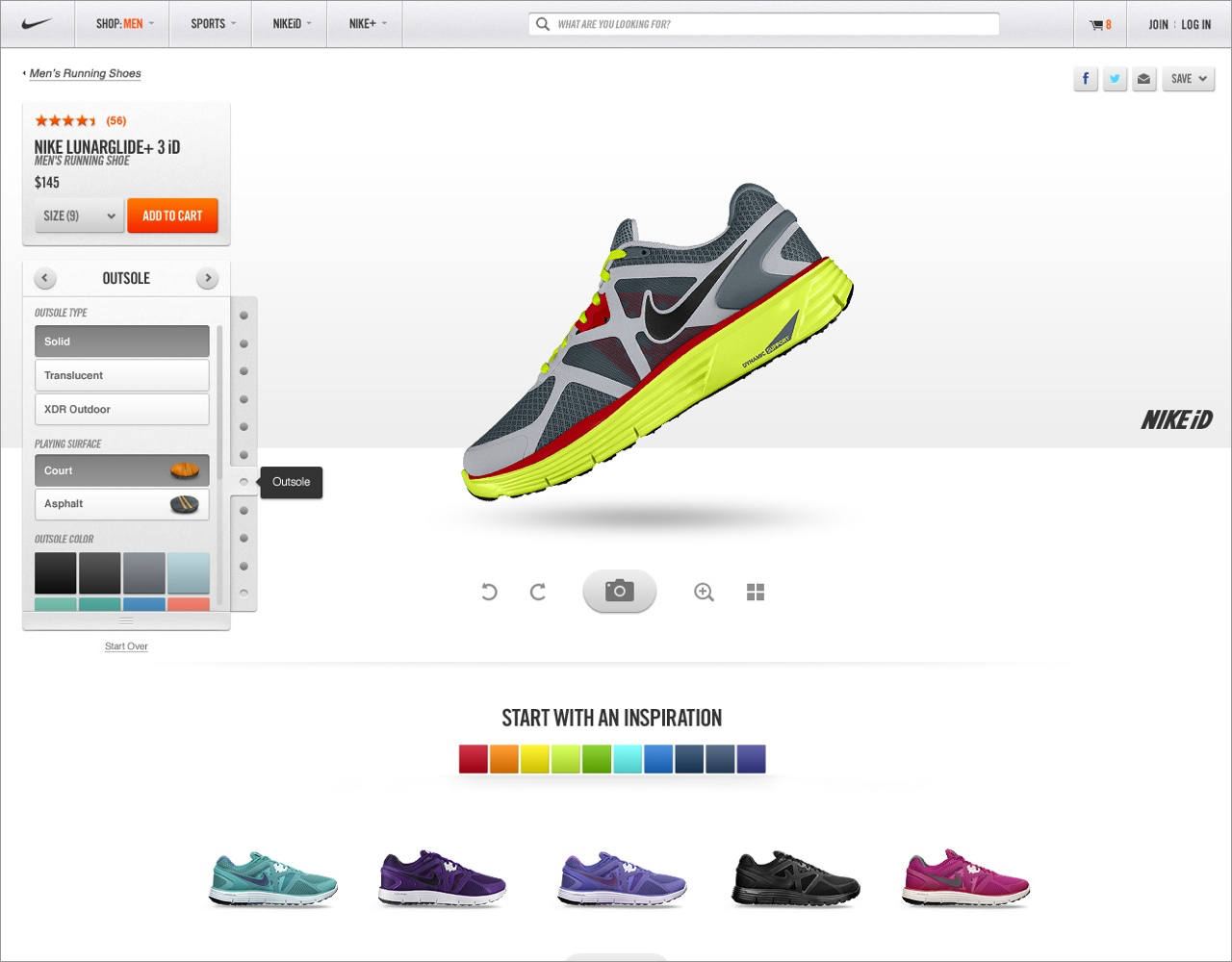 A cleaner, more lightweight UX made the customization experience feel simpler.