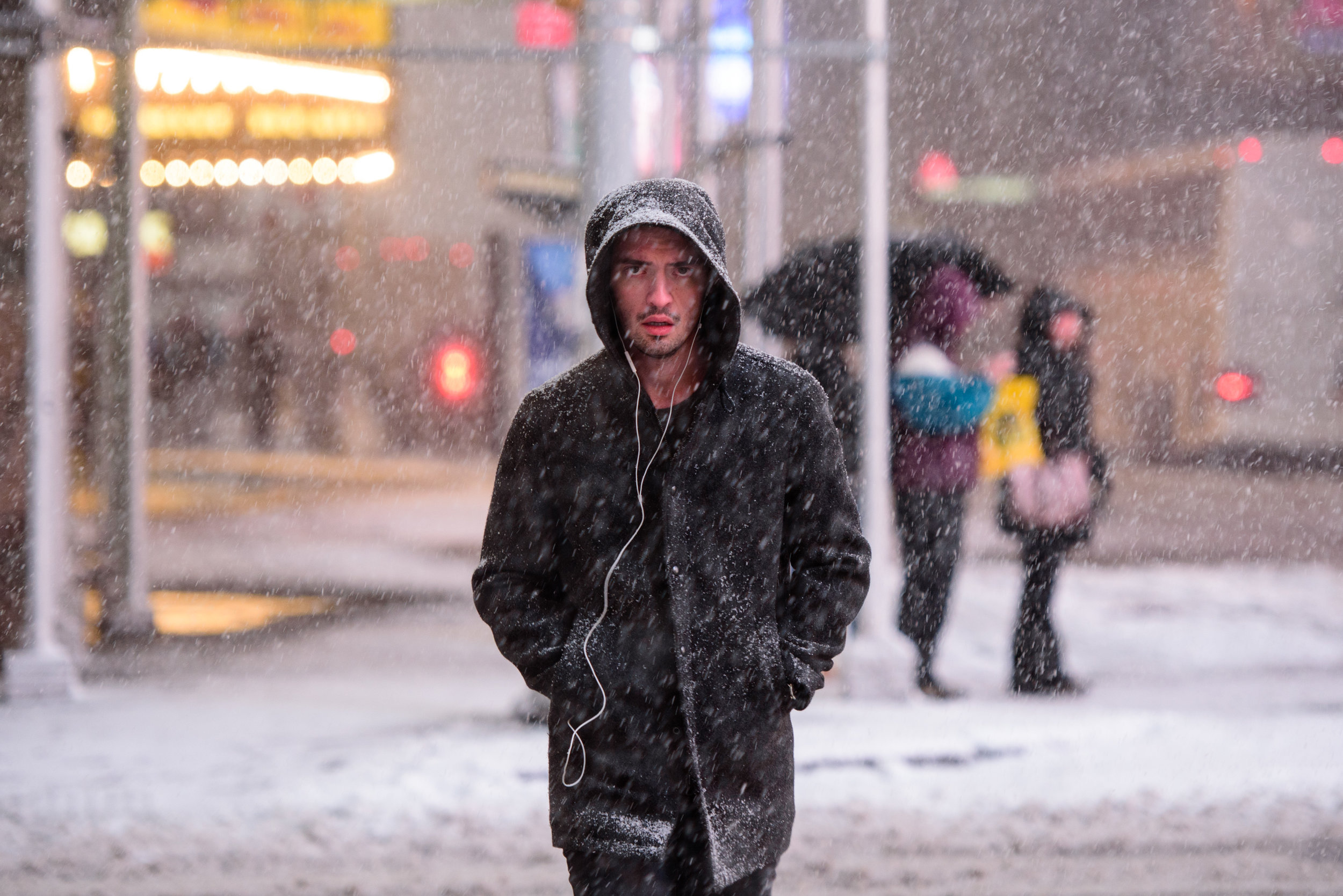 Winter storm blasts New York City [February 9]