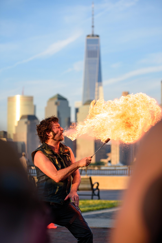 The skyline firebreather [June 11]